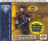 2001/02 Pacific Titanium Draft Day Hockey Box