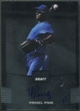 2012 Leaf Metal Draft #YP1 Yasiel Puig Rookie Auto