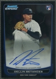 2012 Bowman Chrome #217 Dellin Betances Rookie Auto