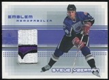2000/01 BAP Memorabilia Jersey Emblems #E29 Steve Yzerman 1997 All Star Game Patch