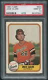 1981 Fleer Baseball #433 Jack Clark PSA 10 (GEM MT)
