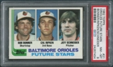 1982 Topps Baseball #21 Cal Ripken Jr. Rookie PSA 8 (NM-MT)