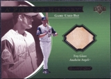 2001 Upper Deck Ovation A Piece of History #TRG Troy Glaus