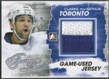 2012/13 ITG Forever Rivals #M13 Clarke MacArthur Gold Game Used Jersey /10