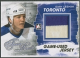2012/13 ITG Forever Rivals #M09 Gary Leeman Gold Game Used Jersey /10