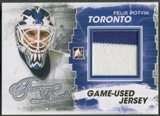 2012/13 ITG Forever Rivals #M15 Felix Potvin Gold Game Used Jersey /10