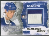 2012/13 ITG Forever Rivals #M18 Borje Salming Gold Game Used Jersey /10