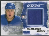 2012/13 ITG Forever Rivals #M19 Alexander Mogilny Gold Game Used Jersey /10