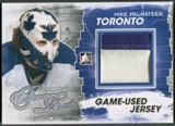 2012/13 ITG Forever Rivals #M14 Mike Palmateer Gold Game Used Jersey /10
