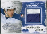 2012/13 ITG Forever Rivals #M08 Nikolai Kulemin Gold Game Used Jersey /10