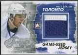 2012/13 ITG Forever Rivals #M20 Matt Stajan Gold Game Used Jersey /10