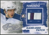 2012/13 ITG Forever Rivals #M08 Nikolai Kulemin Blue Game Used Patch /6