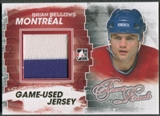 2012/13 ITG Forever Rivals #M26 Brian Bellows Gold Game Used Jersey /10