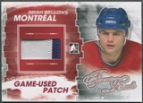 2012/13 ITG Forever Rivals #M26 Brian Bellows Red Game Used Patch /6
