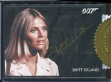2015 James Bond Archives Case-Incentives #BE Britt Ekland as Mary Goodnight/Silver Signa
