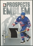 2004/05 ITG Heroes and Prospects #1 Jiri Novotny Rookie Silver Emblem /30
