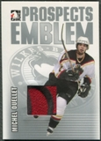 2004/05 ITG Heroes and Prospects #12 Michel Ouellet Rookie Silver Emblem /30