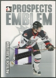 2004/05 ITG Heroes and Prospects #20 Patrick O'Sullivan Rookie Silver Emblem /30