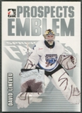 2004/05 ITG Heroes and Prospects #6 David LeNeveu Rookie Silver Emblem /30