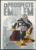 2004/05 ITG Heroes and Prospects #16 Marc-Andre Fleury Silver Emblem /30