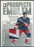 2004/05 ITG Heroes and Prospects #27 Garth Murray Rookie Silver Emblem /30