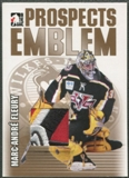 2004/05 ITG Heroes and Prospects #16 Marc-Andre Fleury Gold Emblem /10