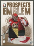 2004/05 ITG Heroes and Prospects #13 Ray Emery Rookie Gold Emblem /10