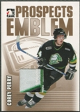 2004/05 ITG Heroes and Prospects #3 Corey Perry Rookie Gold Emblem /10