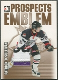 2004/05 ITG Heroes and Prospects #20 Patrick O'Sullivan Rookie Gold Emblem /10
