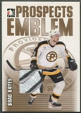 2004/05 ITG Heroes and Prospects #15 Brad Boyes Rookie Gold Emblem /10