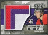 2010/11 ITG Heroes and Prospects #JM24 Troy Rutkowski Top Prospects Jumbo Number Silver /3