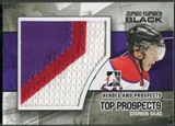 2010/11 ITG Heroes and Prospects #JM22 Stephen Silas Top Prospects Jumbo Number Black /6
