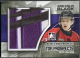 2010/11 ITG Heroes and Prospects #JM16 Peter Holland Top Prospects Jumbo Emblem Black /6