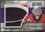 2010/11 ITG Heroes and Prospects #JM13 Maxime Clermont Top Prospects Jumbo Emblem Black /6