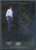 2012 Upper Deck All-Time Greats #SMRP5 Richard Petty Shining Moments 712 Top-Ten Finishes Auto #17/20