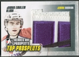 2009/10 ITG Heroes and Prospects #JM16 Jimmy Bubnick Top Prospects Jumbo Emblem Black /6
