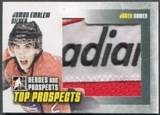2009/10 ITG Heroes and Prospects #JM14 Jared Cowen Top Prospects Jumbo Emblem Silver /3