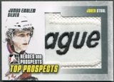 2009/10 ITG Heroes and Prospects #JM15 Jared Staal Top Prospects Jumbo Emblem Silver /3