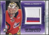 2011/12 ITG Heroes and Prospects #TPM07 David Honzik Top Prospects Number Black /6