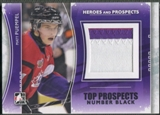 2011/12 ITG Heroes and Prospects #TPM16 Matt Puempel Top Prospects Number Black /6