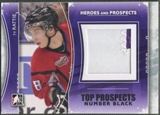 2011/12 ITG Heroes and Prospects #TPM17 Ty Rattie Top Prospects Number Black /6