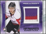 2011/12 ITG Heroes and Prospects #TPM18 Brandon Saad Top Prospects Number Black /6