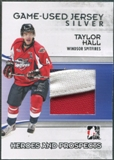 2009/10 ITG Heroes and Prospects #M44 Taylor Hall Game Used Jersey Silver /40