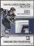 2009/10 ITG Heroes and Prospects #M39 Cody Eakin Game Used Emblem Black /6