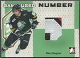 2006/07 ITG Heroes and Prospects #GUN70 Sam Gagner Number Silver /30