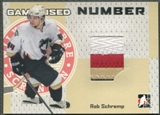 2006/07 ITG Heroes and Prospects #GUN72 Rob Schremp Number Silver /30