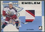 2006/07 ITG Heroes and Prospects #GUE65 Jiri Hudler Emblem Silver /30
