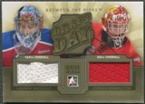2012/13 Between The Pipes #DD05 Laurent Brossoit & Jordan Binnington Draft Day Gold Jersey /10