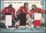 2006/07 Between The Pipes #PT07 Carey Price Jean-Philippe Levasseur Steve Mason Prospect Trios Gold Jersey /10