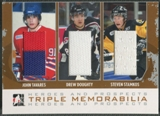 2007/08 ITG Heroes and Prospects #TM03 John Tavares Drew Doughty Steven Stamkos Silver Jersey /20